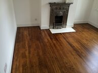 Wonderful wood floor after resurface in Essex