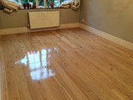 Fantastic wood floor after renew in Essex