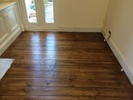 Wonderful wood floor after sanding in Essex