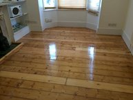 Beautiful surface after floor sanding in Essex